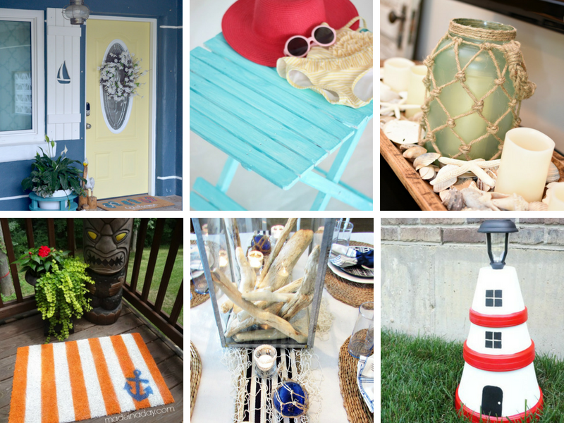 Coastal home decor ideas / nautical home decor