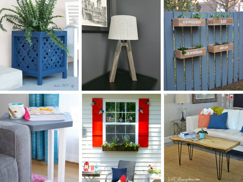 Weekend DIY projects - weekend building project ideas for the home