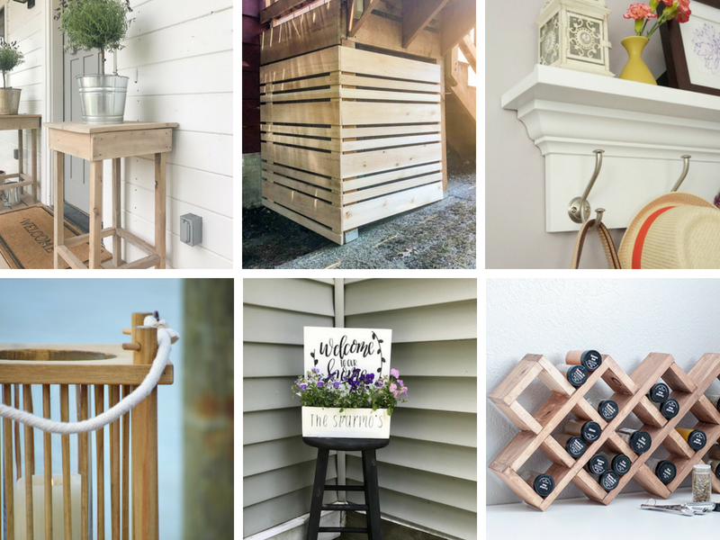 weekend diy project ideas, building projects you can make for your home