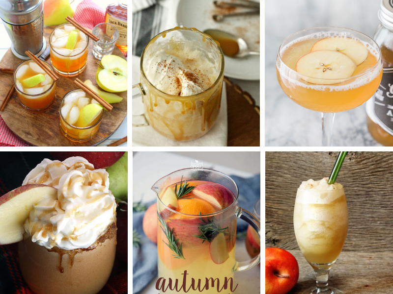 Fun Fall Cocktails - simple and easy Autumn recipes for entertaining