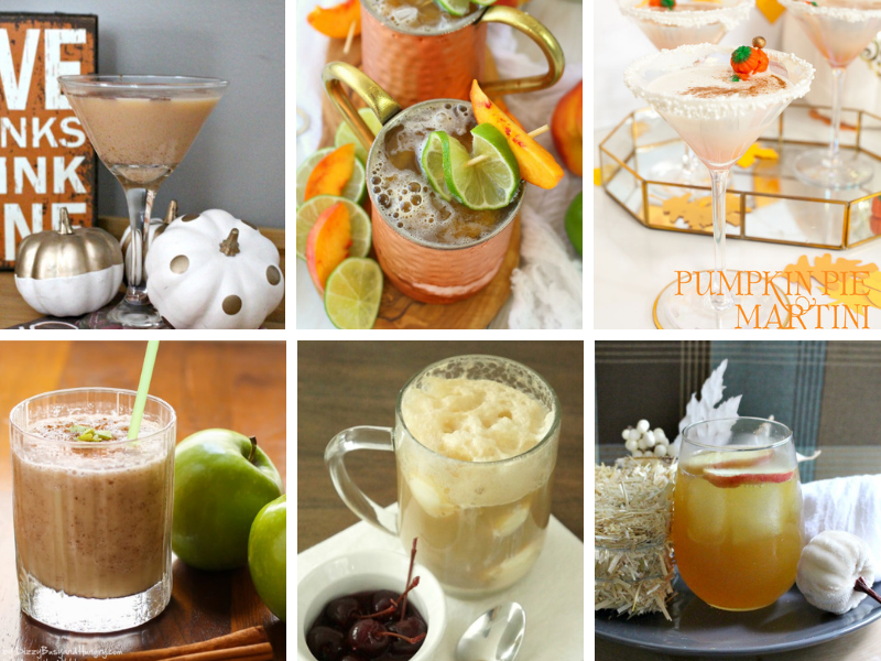 Easy and Fun Fall Cocktails recipes