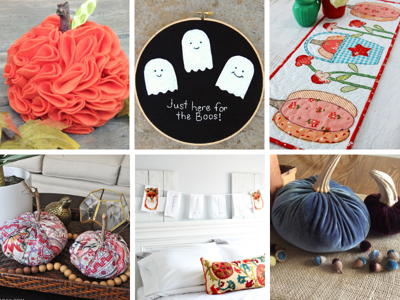 Simple Ideas for Fall Fabric Crafts