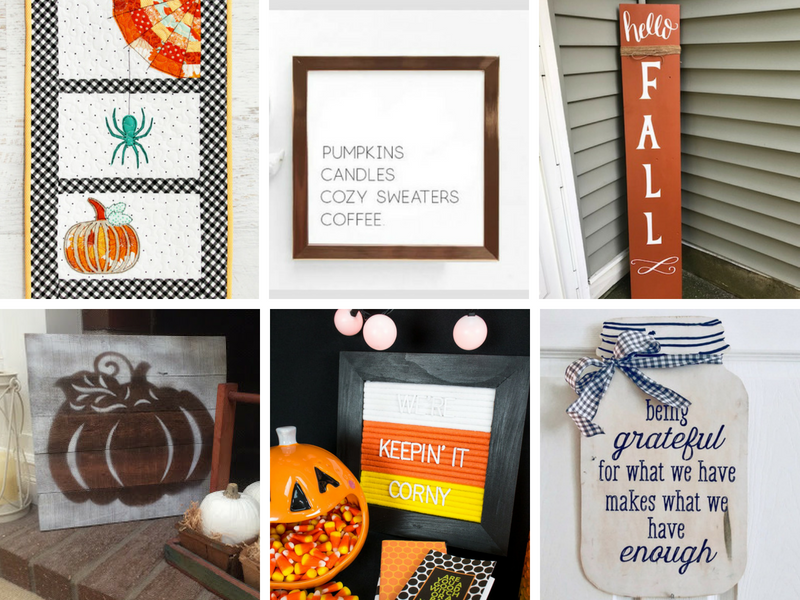 DIY Fall Wall Decor Ideas