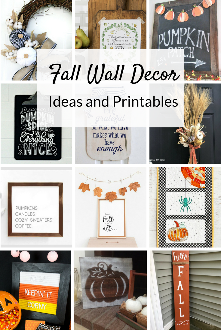 Fall Wall Decor Ideas Two Purple Couches
