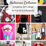 DIY Halloween Costumes and creative group costume ideas. Cute and cheap ideas for girls, boys, even the whole family that you make yourself!
