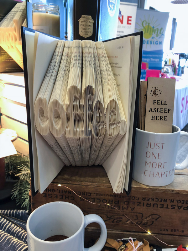 ABC Market - folded books, coffee lover gifts, literary gifts and home goods