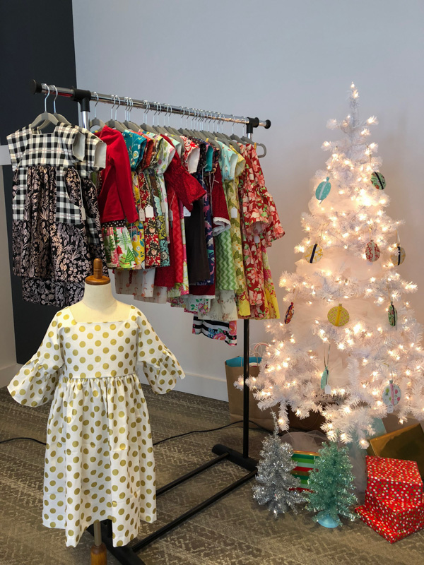 Girl Boss Events Holiday Pop-Up 2018 - adorable dresses and fashions for girls by Evie 'n Lizzie
