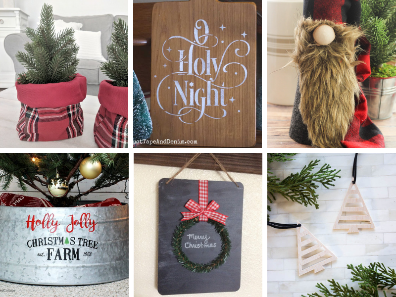 Christmas crafts and holiday home decor ideas
