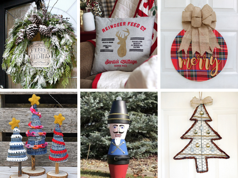 Christmas crafts and DIY holiday decorating ideas