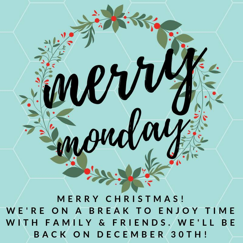 Merry Monday Link Party - Merry Christmas 2018