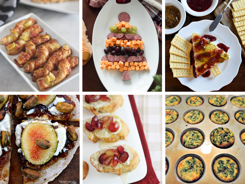 Easy Party Appetizers - fancy yet simple fingerfoods for a crowd! #partyappetizers #partyapps #partyfood