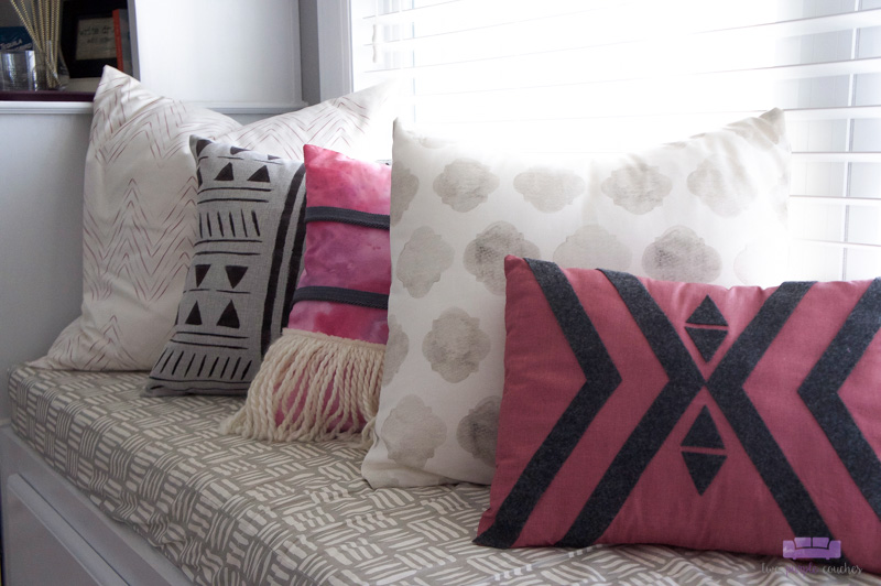 boho style pillows