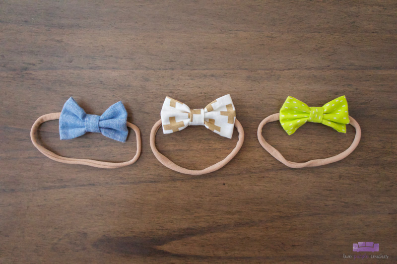 baby girl hair bows by OBT Love