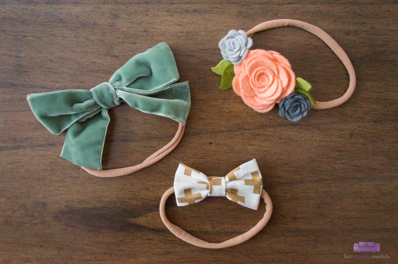 headbands for baby girls by OBT Love