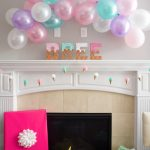 ice cream baby shower balloon decorations