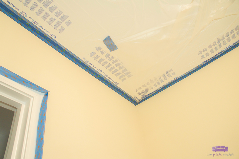 masking a ceiling